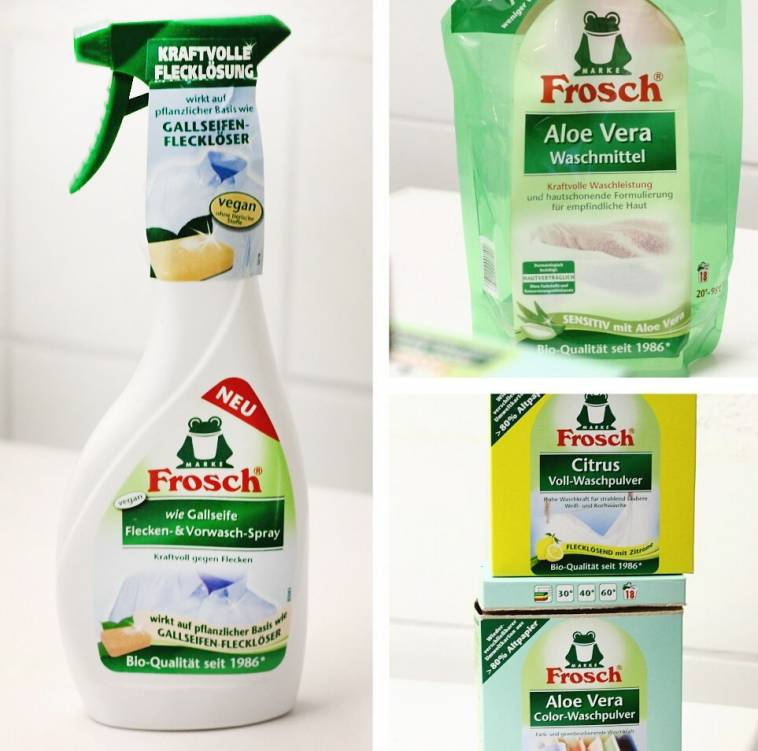 Frosch waschpulver