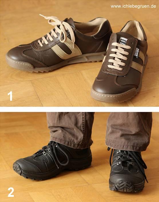 Vegane Schuhe ohne Leder kaufen Erfahrungsbericht ich
