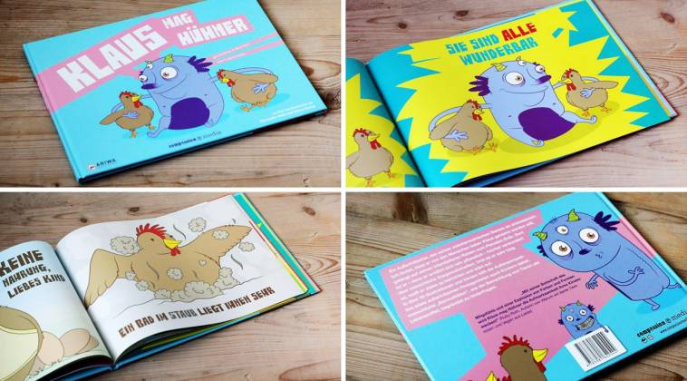 Kinderbücher: Das Meer / Klaus Mag Hühner / Schweinchen