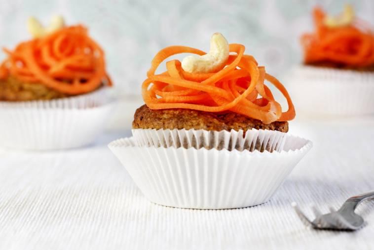 Apfel Karotten Muffins Ohne Ei Ol Weissen Zucker Und Milchprodukte