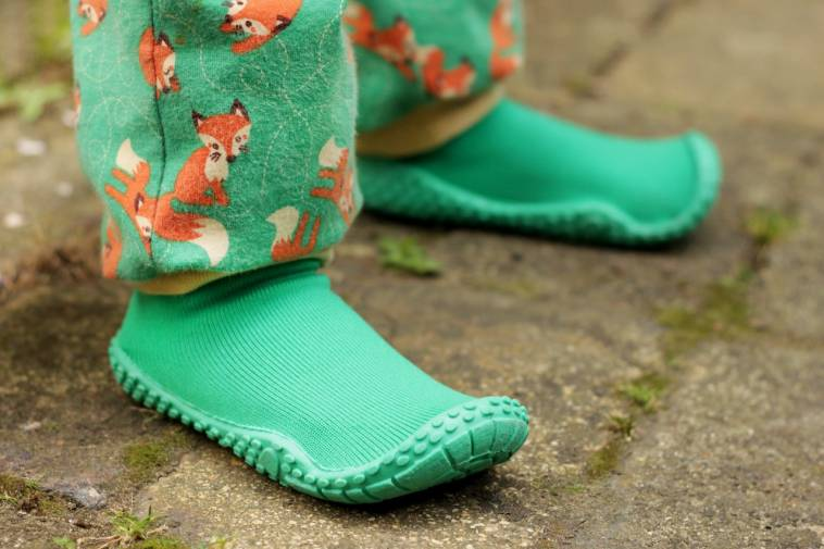e7999dca686220 Nachtrag  Neue Aquaschuhe von PlayShoes in grün - der Fuß ist gewachsen!  -