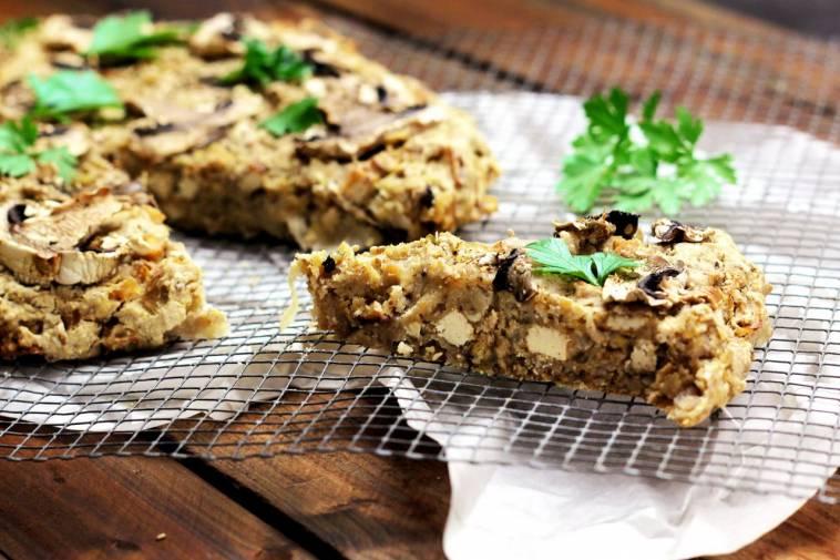 Deftiger Sauerkraut Tofu Kuchen Video Vegan Glutenfrei Ich