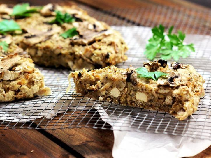 Deftiger Sauerkraut-Tofu-Kuchen + Video / vegan & glutenfrei - Ich ...