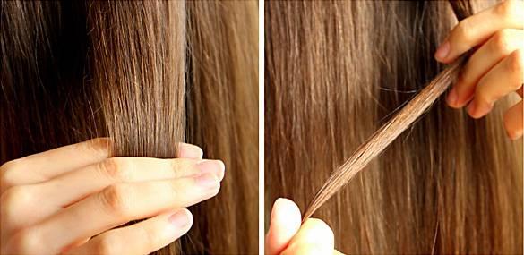 Lange haare nach dem waschen kammen