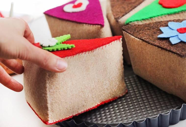Diy Spielzeug Torte Fur Die Kinderkuche Selbst Gemacht Ich Lebe Grun