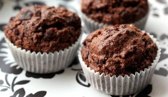 schokoladen muffins ohne ei vegan rezept ich lebe gr n. Black Bedroom Furniture Sets. Home Design Ideas
