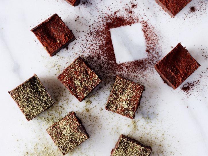 Matcha Dattel Schokoladenkuchen Glutenfrei Vegan Ich Lebe Grun