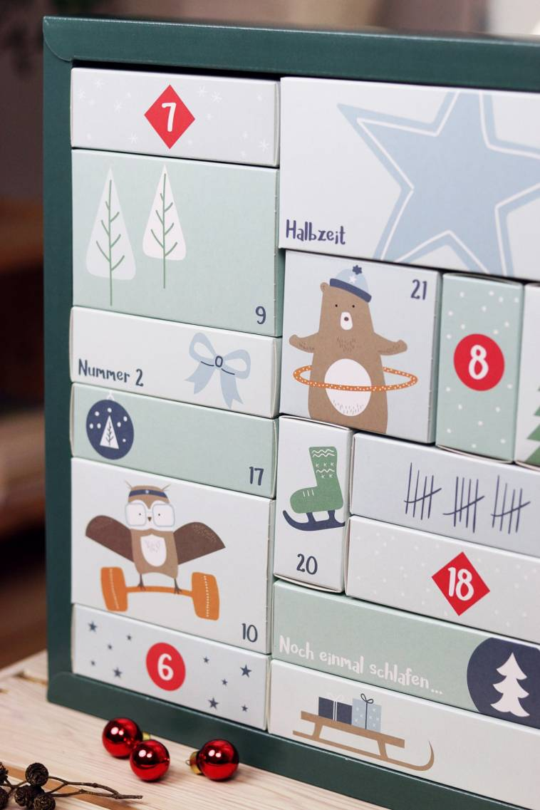 FOODIST Active Adventskalender - vegan und gesund