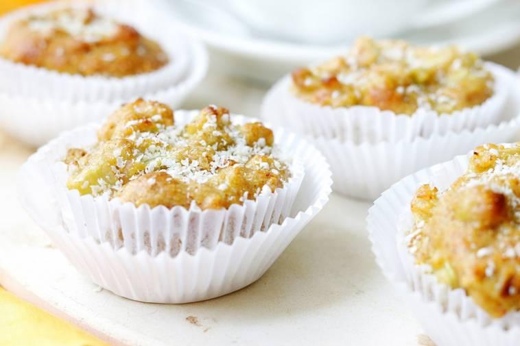 Super Saftige Rhabarber Zitronen Muffins Vegan Glutenfrei Ich