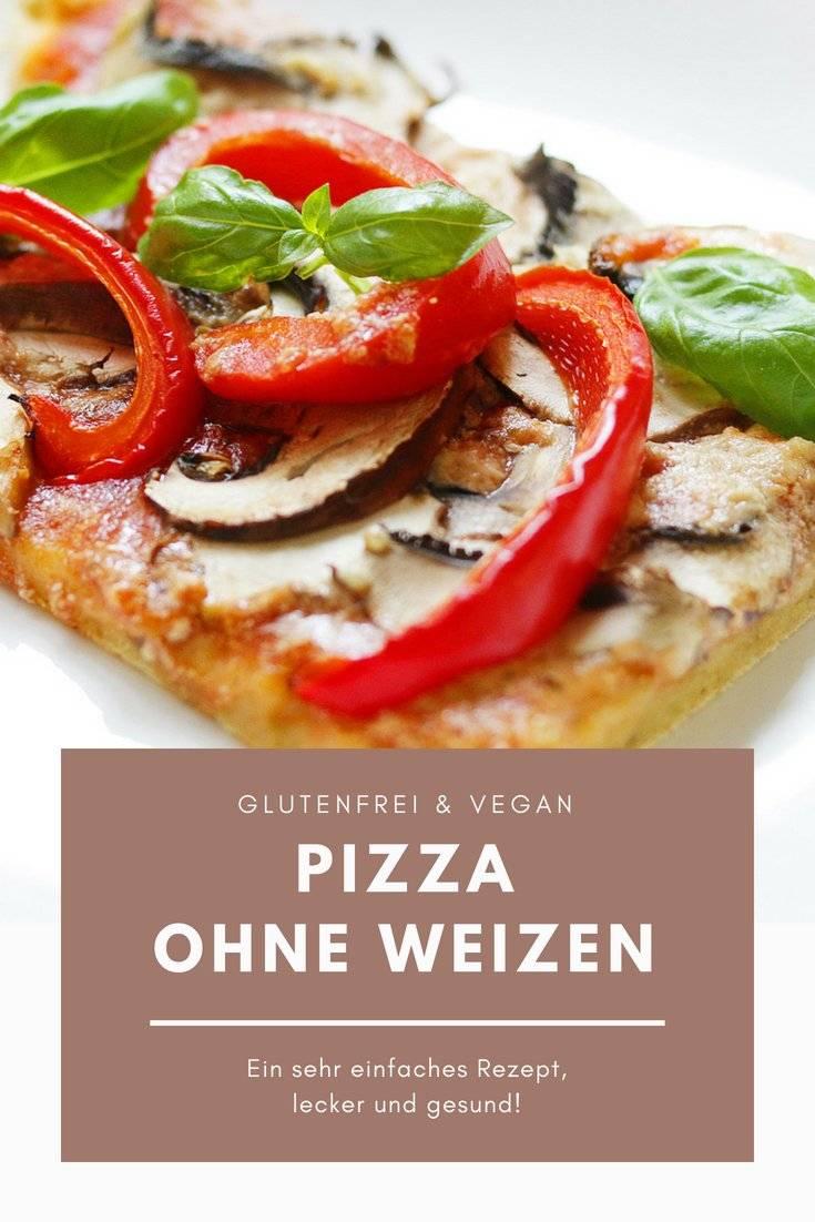 Gesunde Pizza Ohne Weizen Vegan Glutenfrei Ich Lebe Grün